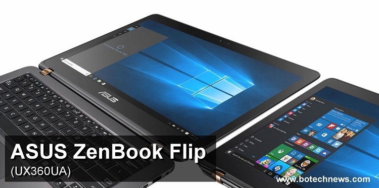 ASUS ZenBook Flip UX360UA Pantalla Giratoria De 360 En
