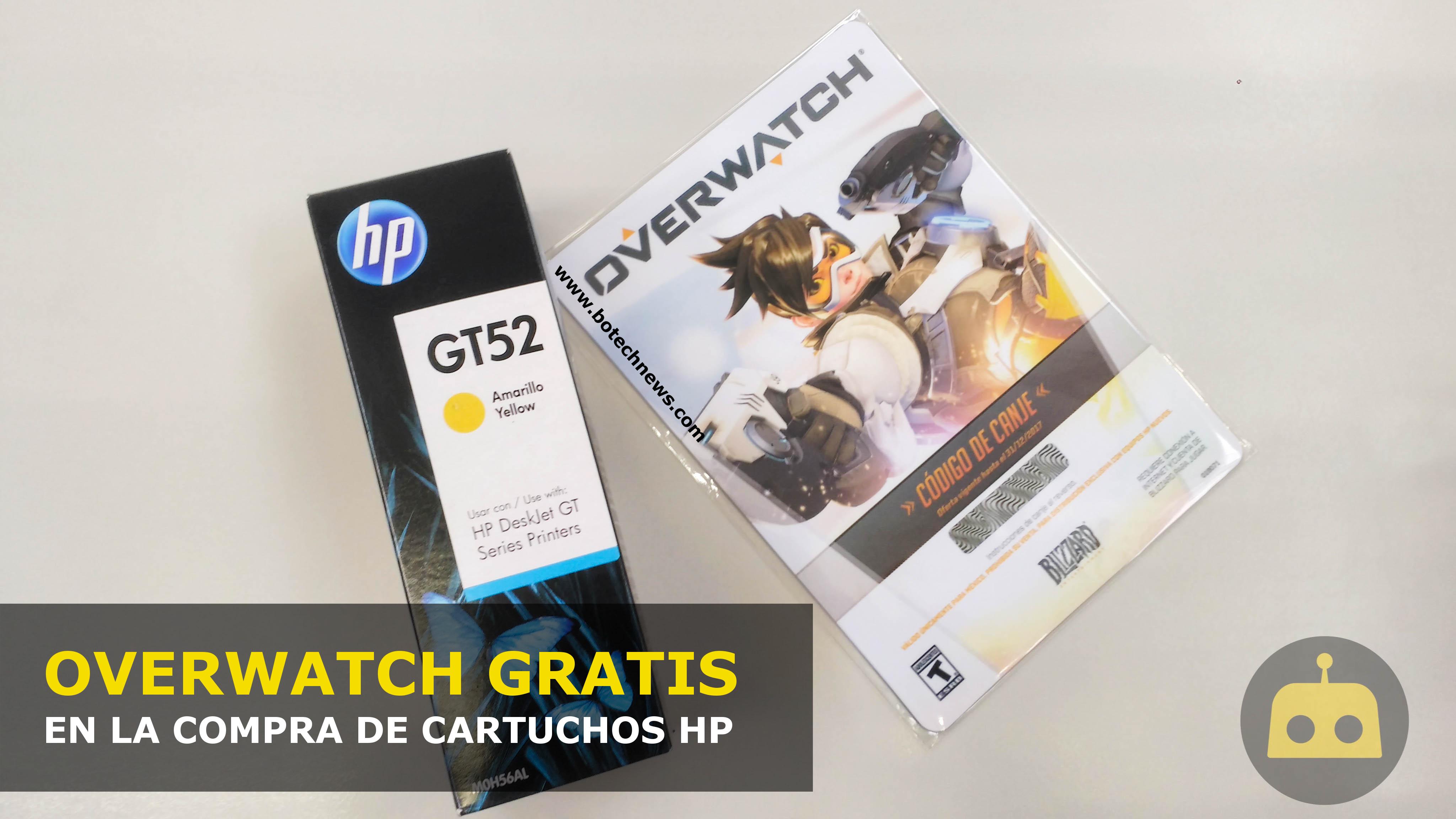 ACTUALIZADA  OfficeDepot regala Overwatch por error en la compra de  cartuchos de tinta HP  df6611fc58eb
