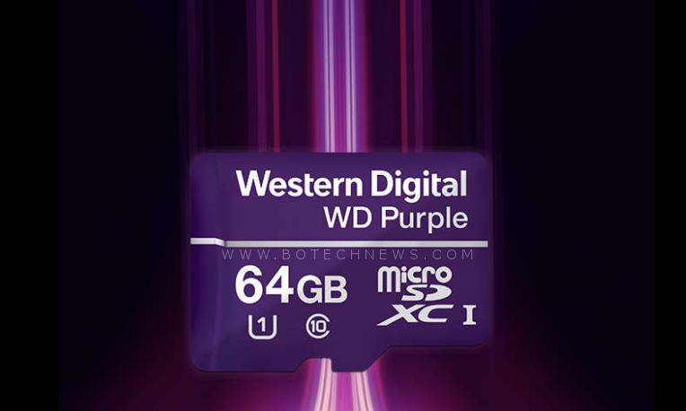 Resultado de imagen para WD Purple MicroSD 64GB