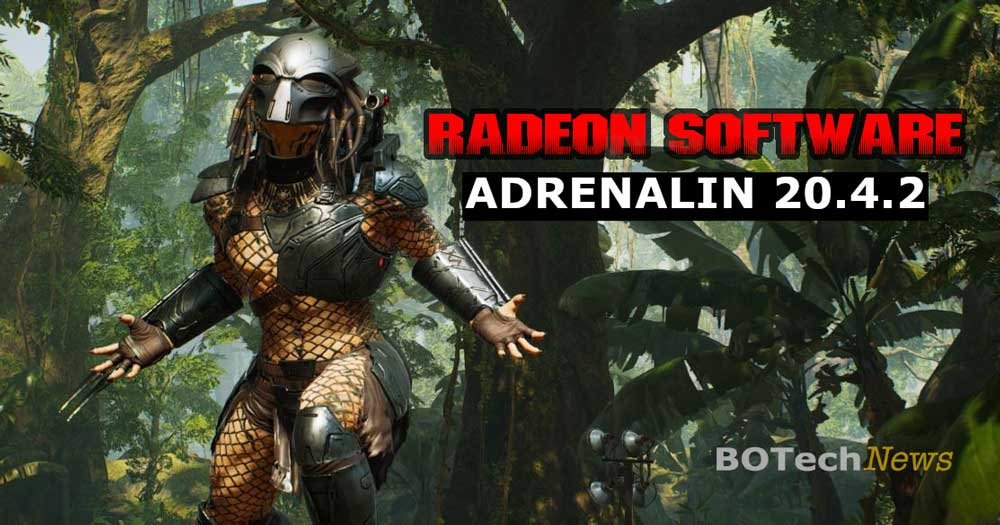 Amd Radeon Software Adrenalin 2020 Edition 20 4 2 Agrega Soporte Para Predator Hunting Grounds